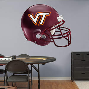Virginia Tech Hokies Helmet Fathead Wall Decal